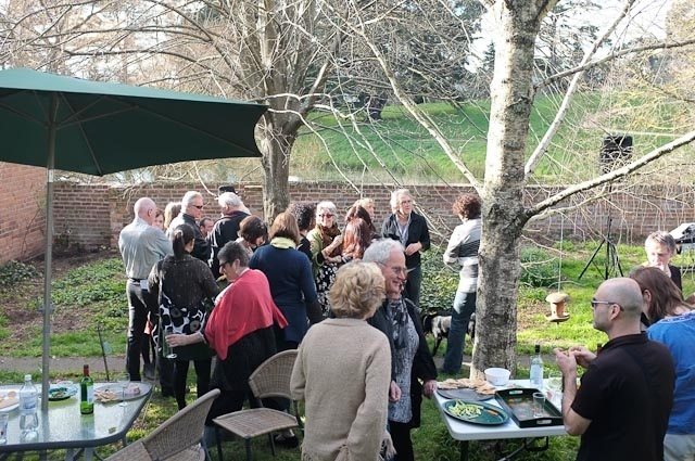 Opening Party in the Garden